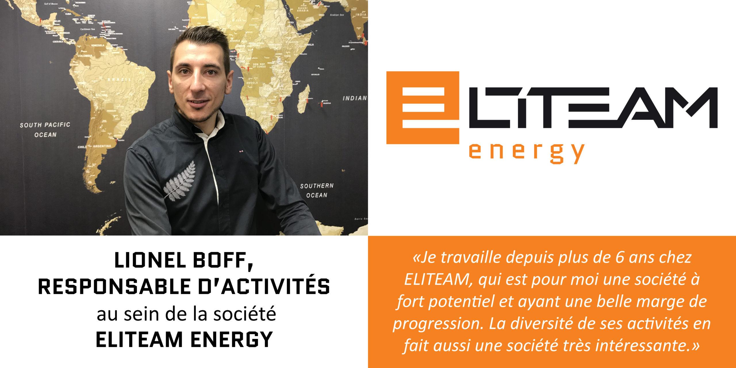 Interview Lionel Boff – Responsable d'Activités