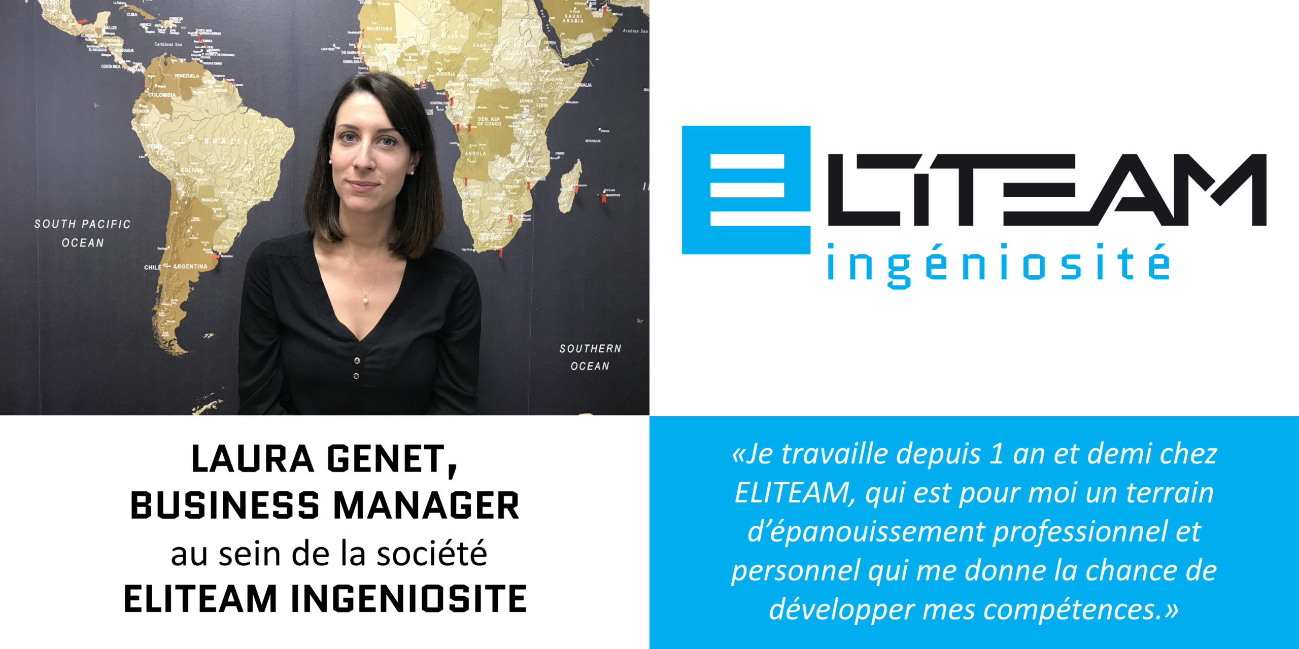 Interview Laura Genet – Business Manager