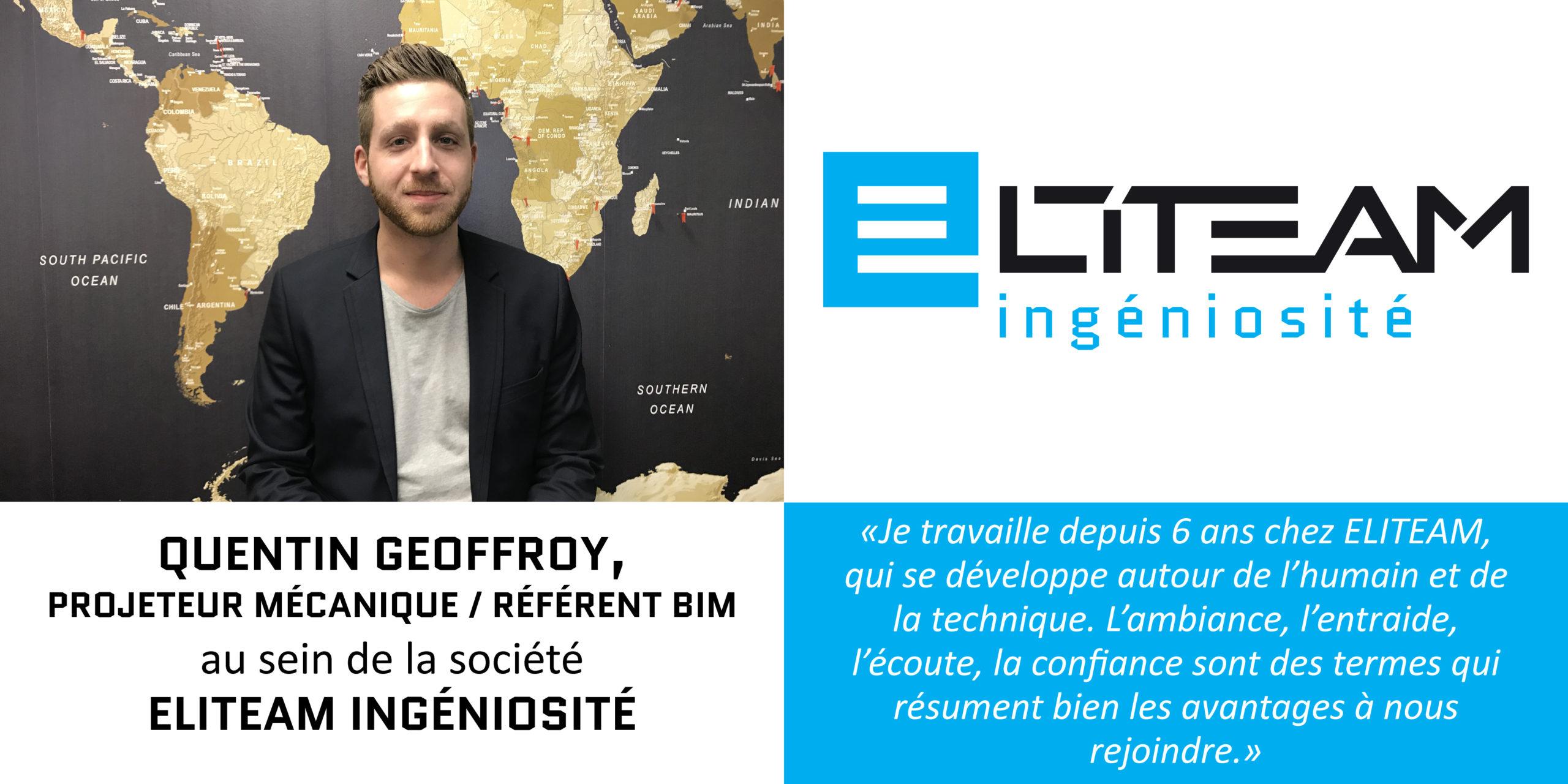 Interview Quentin Geoffroy – Projeteur Mécanique/Référent BIM