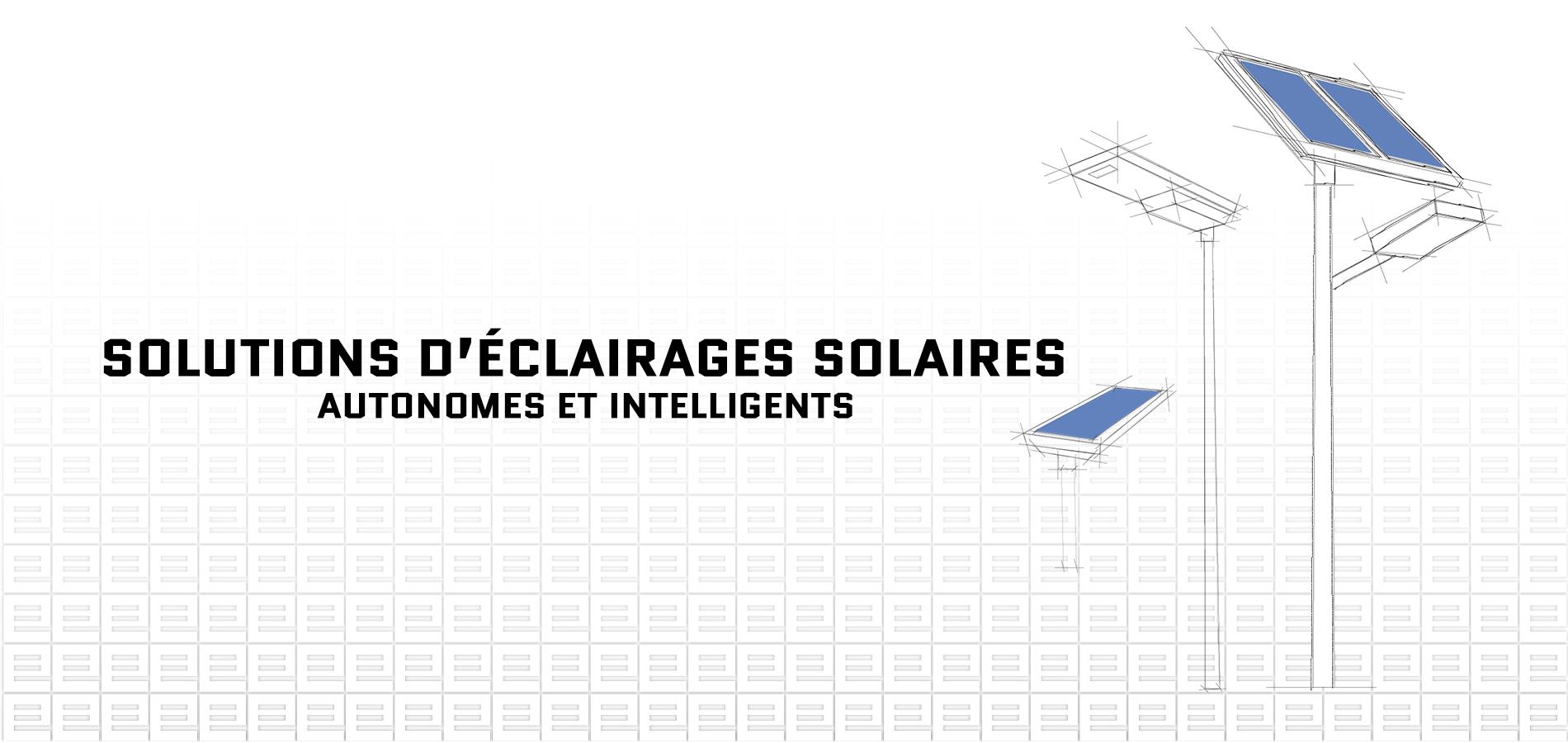 candélabres solaires autonomes connectés